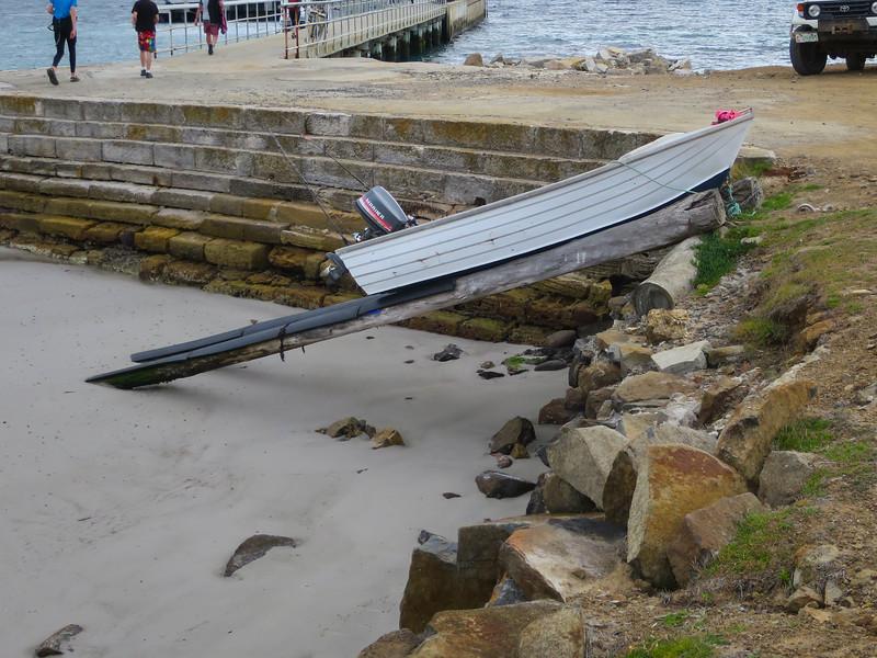 Boat ramp - Maria Island, Tasmania