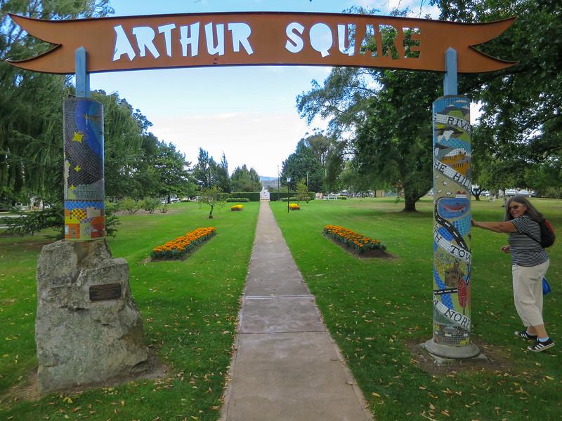 Arthur Square - New Norfolk, Tasmania