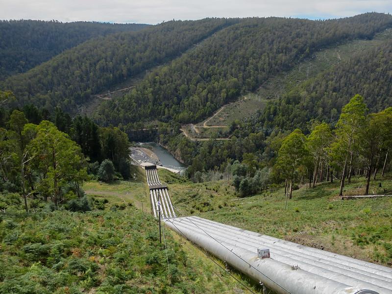 Pipeline to Tarraleah Power Station - Tarraleah, Tasmania