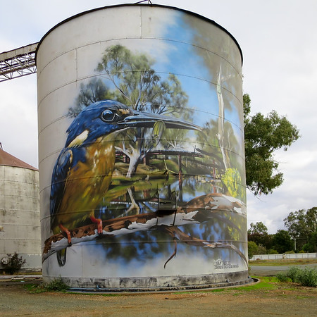 Silos  - Rochford, Victoria
