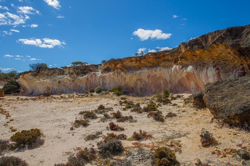 The Breakaways - Hyden, Western Australia