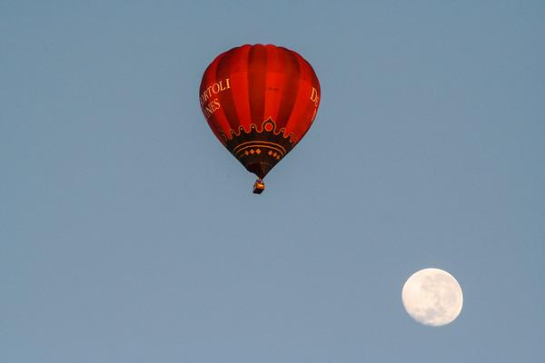 Balloon over Melbourne, Victoria