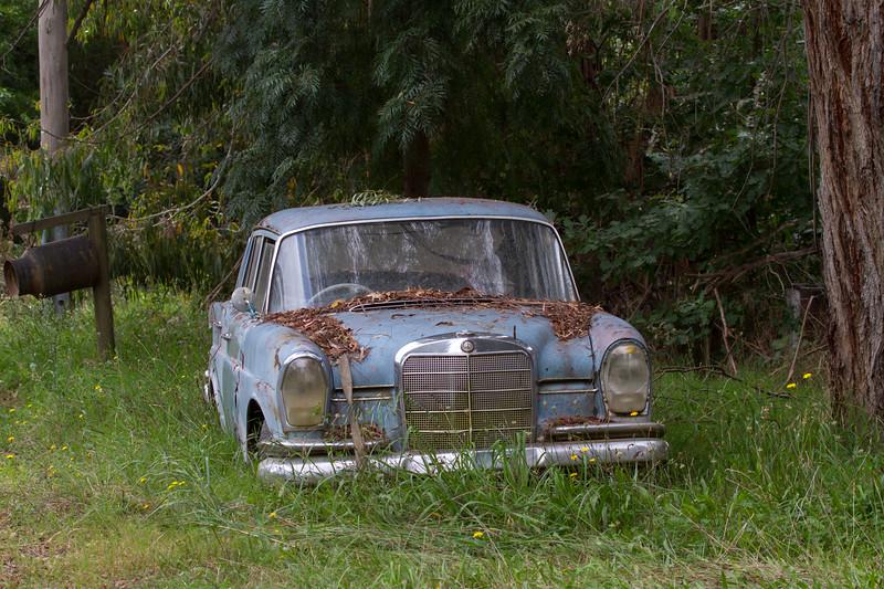 Tired vehicle - Yackandandah