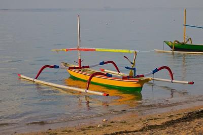 Boat - Sanur Beach, Bali