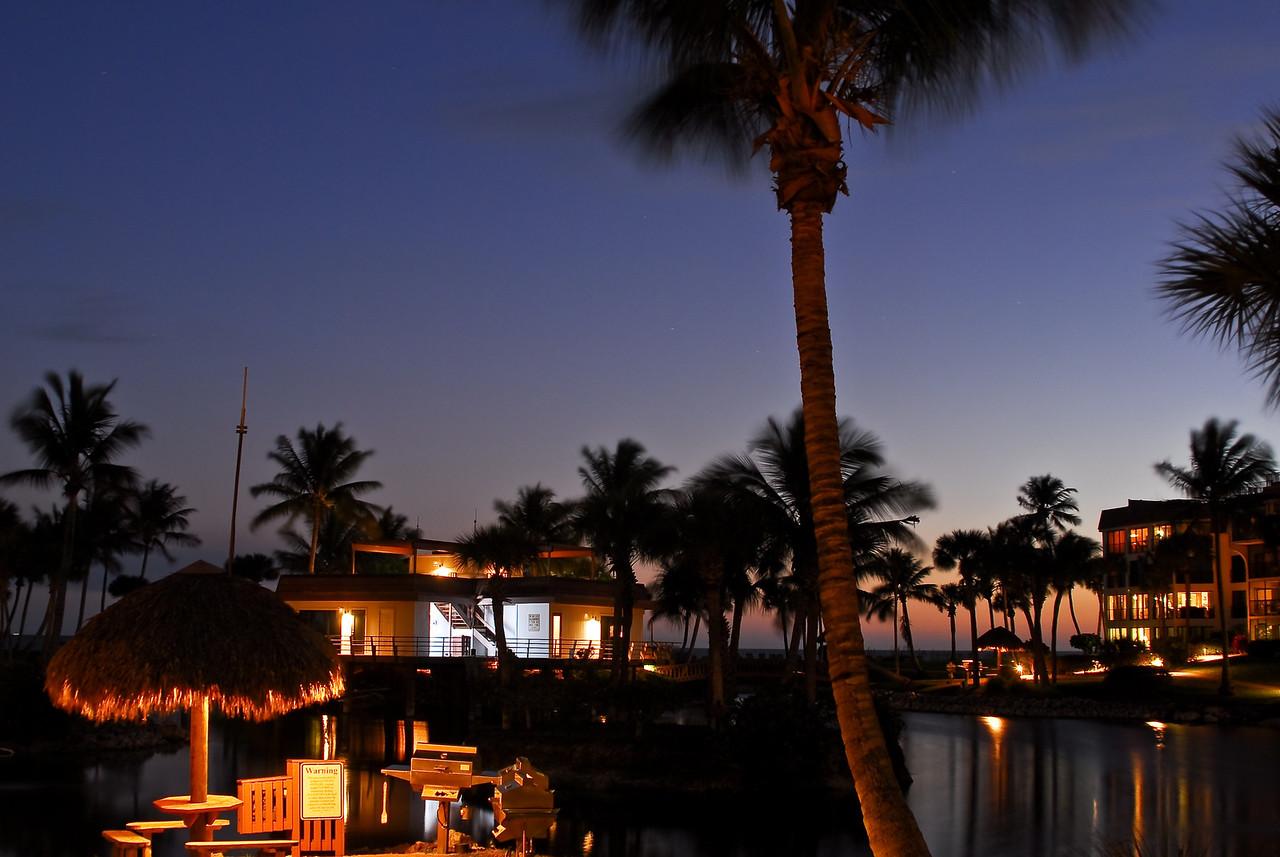 Nighttime Resort