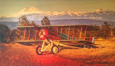 Jack's plane - painting-4x7