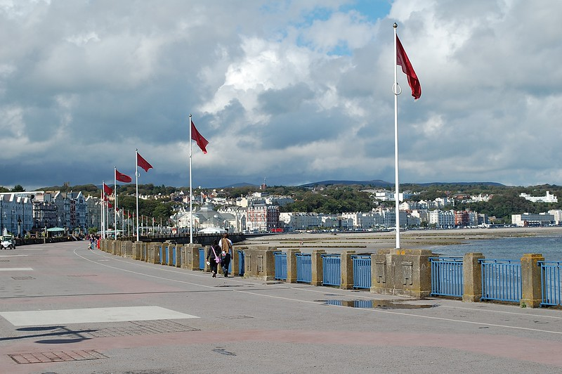 25.8.11.  Douglas in the Isle of Man.