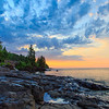 Lake Superior Sunrise #1 Clearing Skies