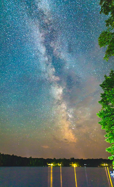 Milky Way over Lake Millicent