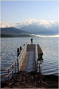 Early Morning , Lake McDonald