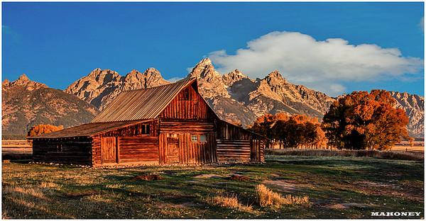 Mormon Barn, Grand Tetons National Park