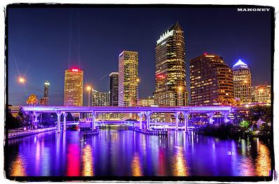 Tampa Skyline, Tampa, FL