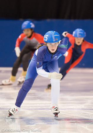 Speed Skating: These photos are copyright photos of the Arctic Winter Games International Committee and are for exclusive of the Arctic Winter Games, Arctic Winter Games International Committee, Arctic Winter Games Hosting Communities and promotions of th
