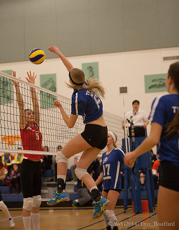 Volleyball: These photos are copyright photos of the Arctic Winter Games International Committee and are for exclusive of the Arctic Winter Games, Arctic Winter Games International Committee, Arctic Winter Games Hosting Communities and promotions of the A