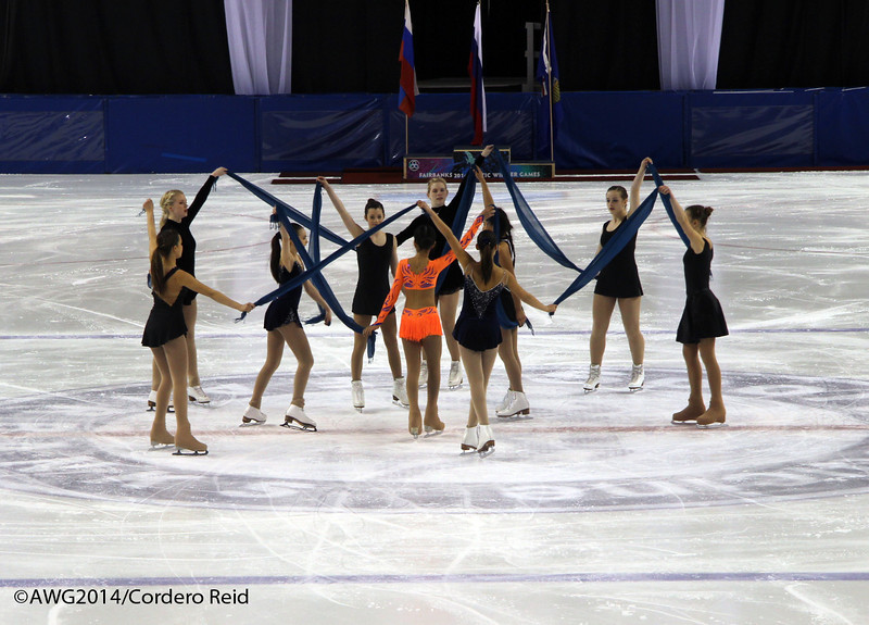 Photos from figureskating exhibition on Thursday, 20th 2014 in the Carlson Center.