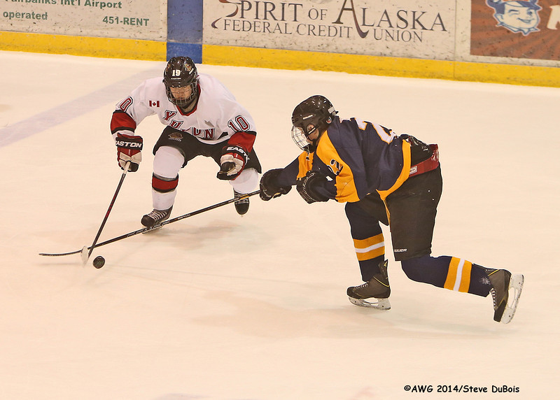 Alaska vs Yukon hockey 3/20