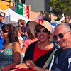 Couple enjoying music at the San Diego Sicilian Festival