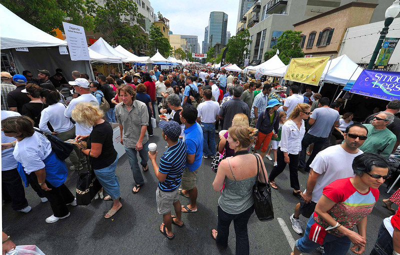 Lots of activity at the Sicilian Festival in the heart of Little Italy