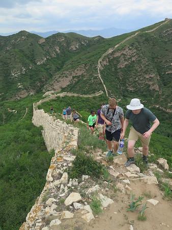 General Xu Great wall hiking camping