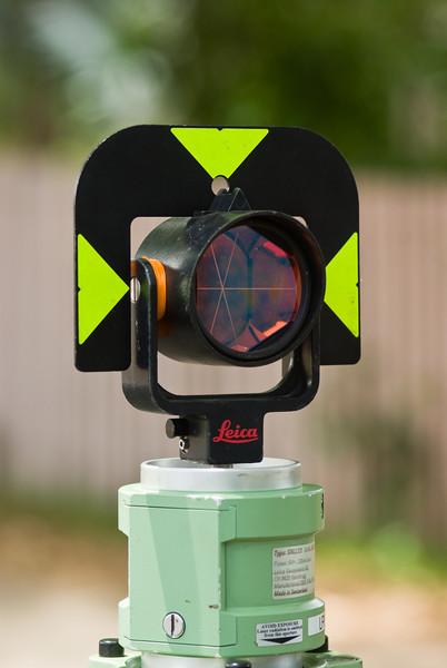 Surveying Circular Prism