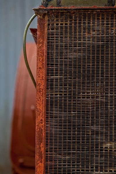 Rusty Tractor Radiator