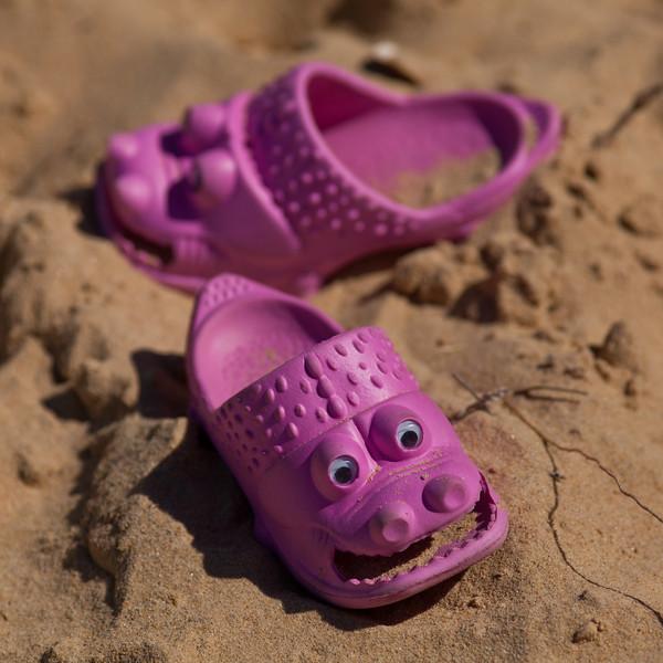 Vicious Pink Crocs