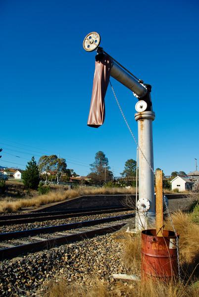 Water Crane at the Abandoned Wallerang Railway Station, New South Wales