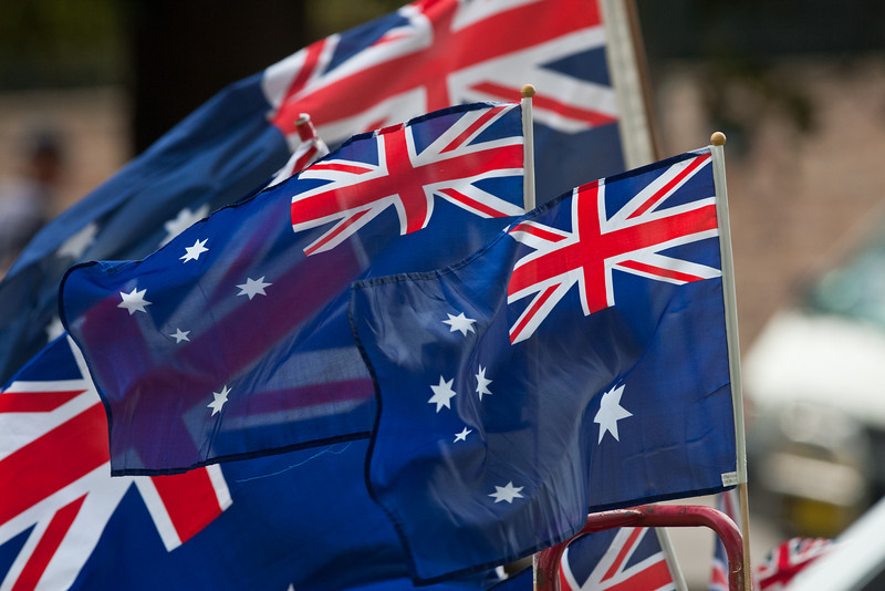 Australia Day in Sydney: