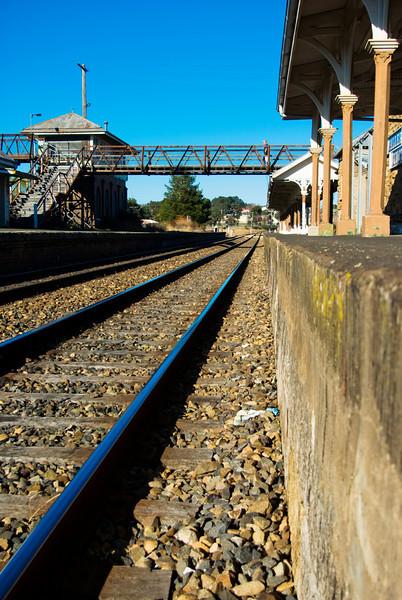 Abandoned Station: Wallerawang New South Wales - Low angle view