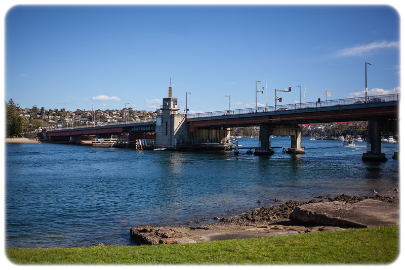 Spit Bridge Over the Middle Harbour