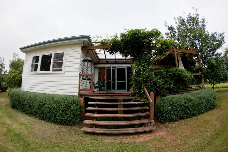 Cottage at Blue Metal Vineyard at Berrima