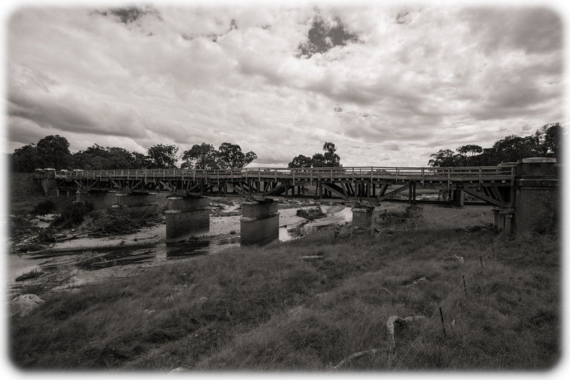 Ricketty Rail Bridge Near Tenterfield, NSW