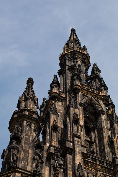 Scott Monument: Edinburgh