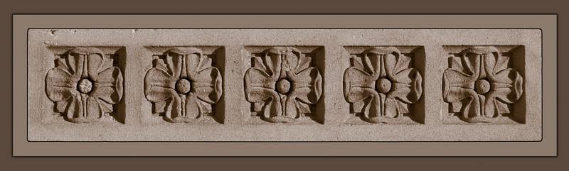 Five Sanstone Flowers