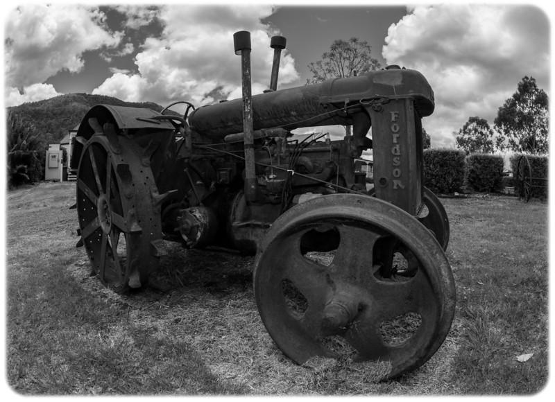 Vintage Fordson Steam Tractor