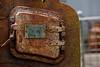 Rusty Furnace Door