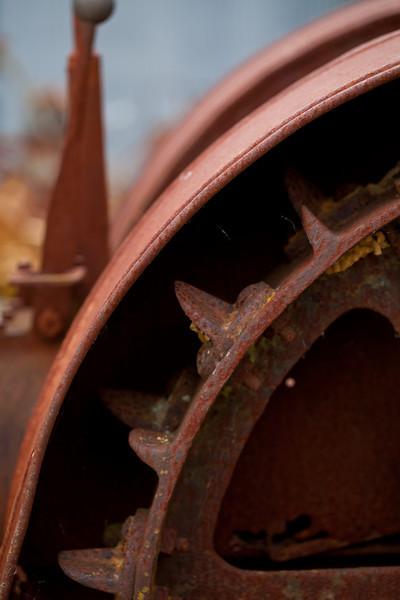 Vintage Tractor Wheel