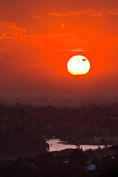 Tonight's Sydney sunset from my balcony