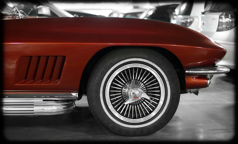Early 60's Corvette Stingray Convertible