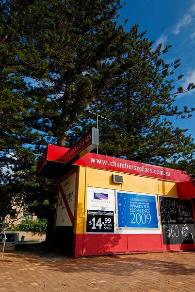 A liquor stor in Newport along the Northern Beaches of Sydney