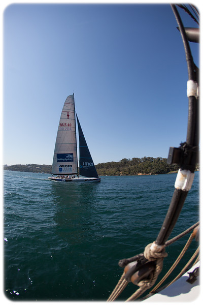 Sailing Sydney Harbour on the Southern Swan