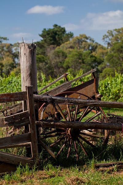 Joadja Vineyards: Derelict Wagon