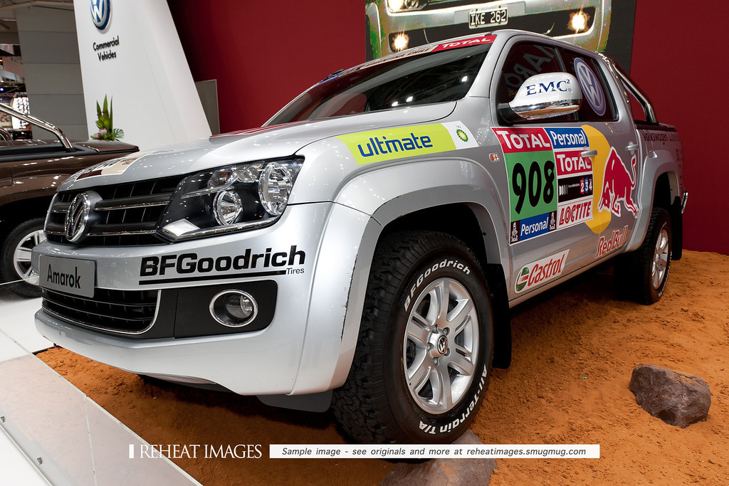Volkswagen Amarok support vehicle.