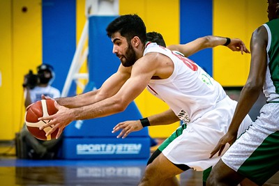 Iran v Saudi Arabia, FIBA Asia Cup 2021 Qualifiers at Al-Gharafa Sports Club Multi-Purpose Hall (Doha, Qatar), 1st Round, 28 November, 2020. Photo by Tom Kirkwood/SportDXB