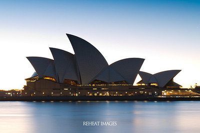 Sydney Opera House at 6:30am in the morning, exposed for 30 seconds at F/16 with ISO50 from the Nikon D800e.