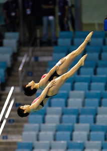 FINA/Midea Diving World Series, Dubai, UAE  at the FINA/Midea Diving World Series held at the Hamdan bin Mohammed bin Rashid Sports Complex in Dubai, UAE on 21st-23rd March, 2013. Photo by Francois Steenkamp/Sportdxb