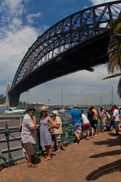 Australia Day Under the Bridge (2011)