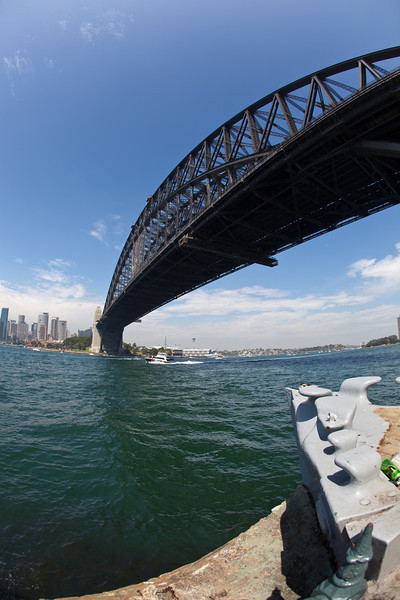 Sydney Harbour Bridge and Opera House Panorama