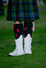 Clan MacLeod Pipe Band: KIlt and Spats