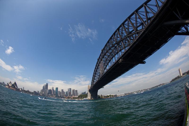 Sydney Harbour Bridge and Opera House Panorama